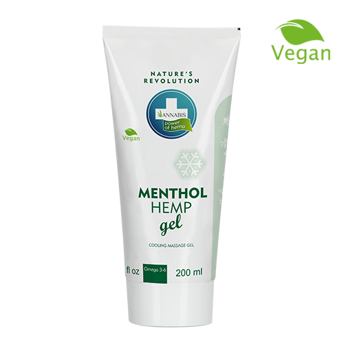 Annabis menthol hemp gel-ψυκτική γέλη για το μασάζ